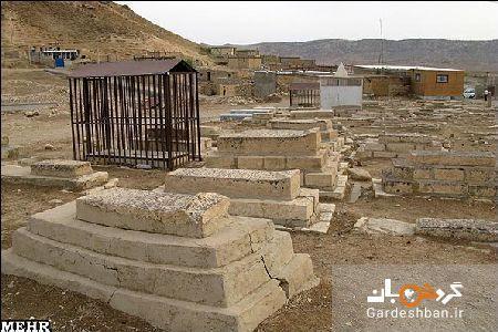 گورستان چشمک؛یادگار عهد اشکانی در لرستان، عکس