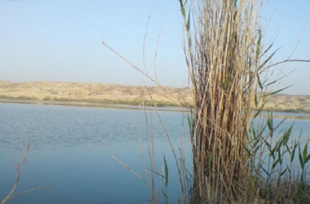 دریاچه برم شور شیراز
