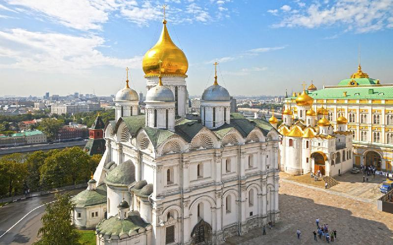 کلیسای جامع بشارت؛ از جاذبه های گردشگری مسکو، عکس