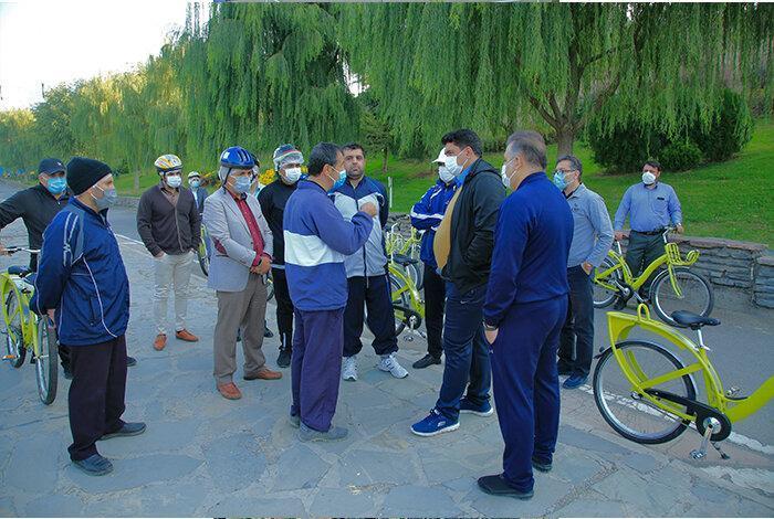 شهردار منطقه5، بوستان جوانمردان را رکاب زد