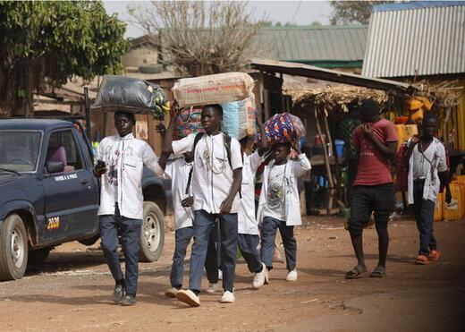 350 دانش آموز ربوده شده نیجریه ای آزاد شدند