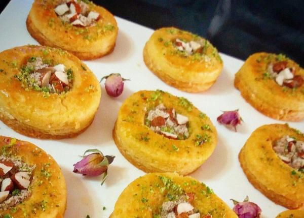 طرز تهیه شیرینی لانه بلبلی ترکی