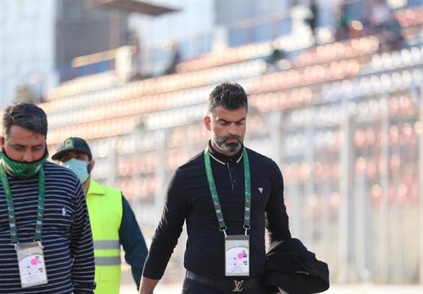 جنجال در استادیوم شهید وطنی قائمشهر و اخراج رحمان رضایی