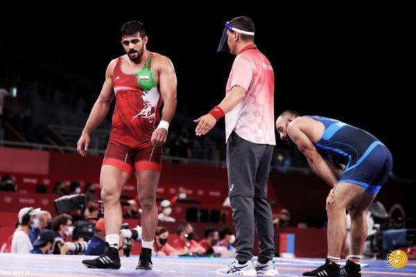 حذف زودهنگام کشتی گیر ایران از بازی های المپیک